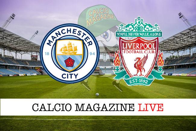Manchester City Liverpool Real Madrid Getafe cronaca diretta live risultato in tempo reale