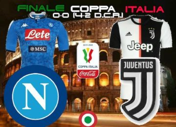 napoli juve finale coppa italia 2019-2020