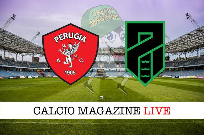 Perugia Pordenone cronaca diretta live risultato in tempo reale