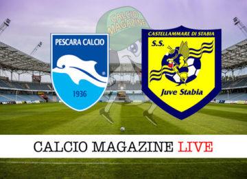 Pescara Juve Stabia cronaca diretta live risultato in tempo reale