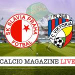 Slavia Praga Viktoria Plzen cronaca diretta live risultato in tempo reale