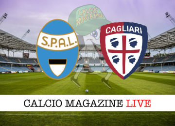 Spal Cagliari cronaca diretta live risultato in tempo reale