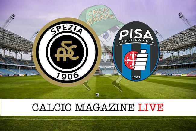 Spezia Pisa cronaca diretta live risultato in tempo reale
