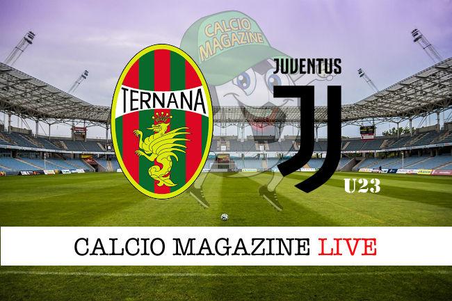 Ternana Juventus U23 cronaca diretta live risultato in tempo reale