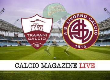 Trapani Livorno cronaca diretta live risultato in tempo reale