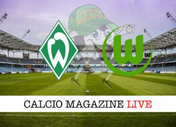 Werder Brema Wolfsburg cronaca diretta live risultato in tempo reale