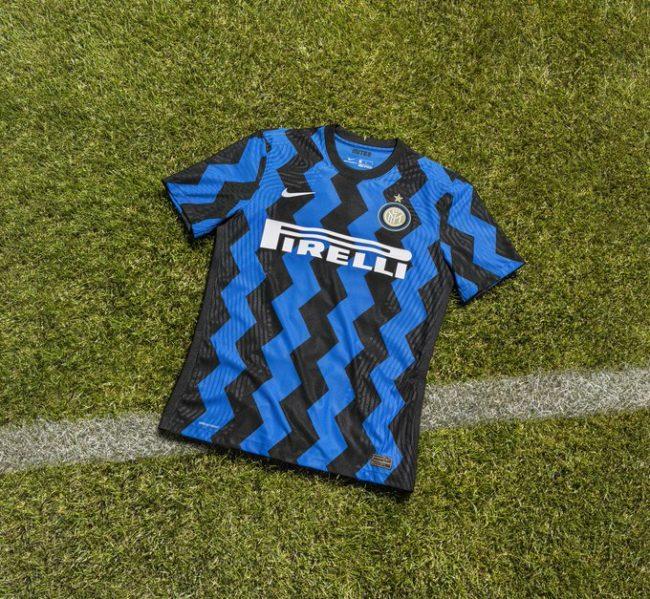 Inter, ecco la nuova maglia per la stagione 2020/2021
