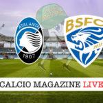 Atalanta Brescia cronaca diretta live risultato in tempo reale