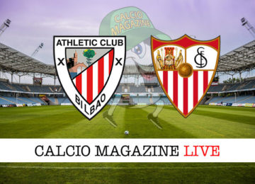 Athletic Bilbao Siviglia cronaca diretta live risultato in tempo reale