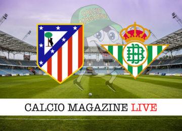 Atletico Madrid Betis cronaca diretta live risultato in tempo reale