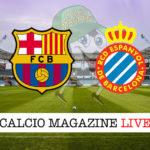 Barcellona Espanyol cronaca diretta live risultato in tempo reale