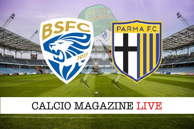 Brescia Parma cronaca diretta live risultato in tempo reale