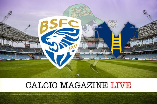 Brescia Verona cronaca diretta live risultato in tempo reale