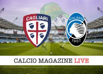 Cagliari Atalanta cronaca diretta live risultato in tempo reale