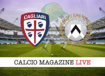 Cagliari Udinese cronaca diretta live risultato in tempo reale
