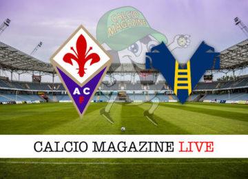 Fiorentina Hellas Verona cronaca diretta live risultato in tempo reale