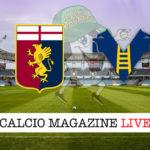 Genoa Hellas Verona cronaca diretta live risultato in tempo reale