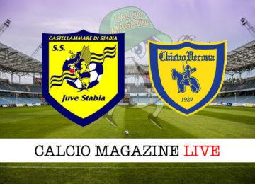 Juve Stabia Chievo cronaca diretta live risultato in tempo reale
