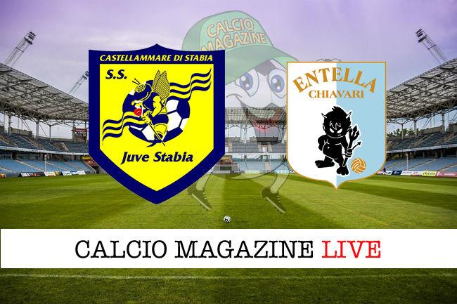 Juve Stabia Virtus Entella cronaca diretta live risultato in tempo reale