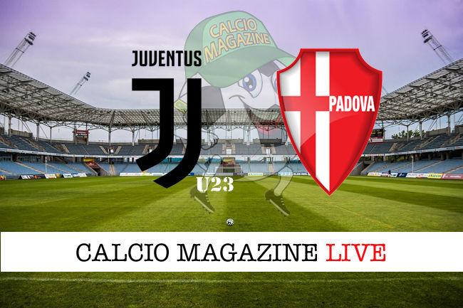 Juventus U23 Padova cronaca diretta live risultato in tempo reale