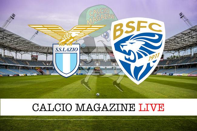 Lazio Brescia cronaca diretta live risultato in tempo reale