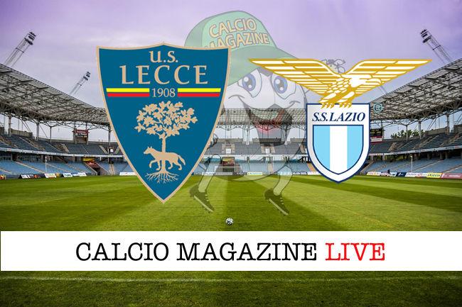 Lecce Lazio cronaca diretta live risultato in tempo reale