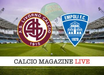 Livorno Empoli cronaca diretta live risultato in tempo reale