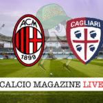 Milan Cagliari cronaca diretta live risultato in tempo reale