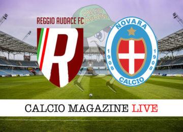Reggio Audace Novara cronaca diretta live risultato in tempo reale
