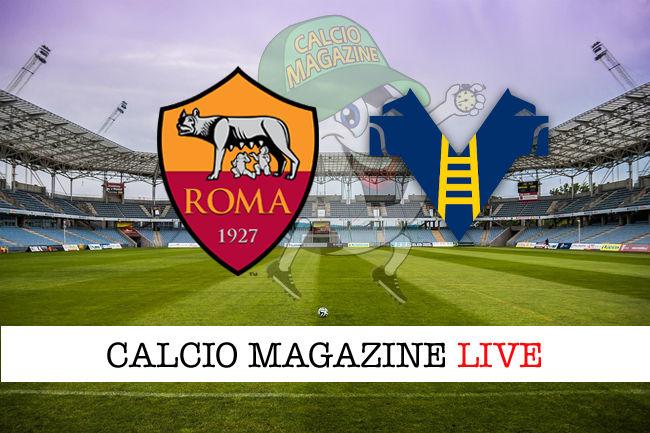 Roma Hellas Verona 2 1 Cronaca Diretta Live Risultato In Tempo Reale