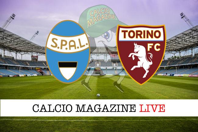 Spal Torino cronaca diretta live risultato in tempo reale