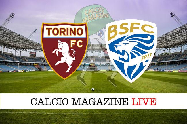 Torino Brescia cronaca diretta live risultato in tempo reale