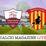 Trapani Benevento cronaca diretta live risultato in tempo reale