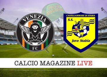 Venezia Juve Stabia cronaca diretta live risultato in tempo reale