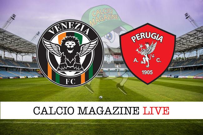 Venezia Perugia cronaca diretta live risultato in tempo reale