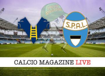 Verona SPAL cronaca diretta live risultato in tempo reale