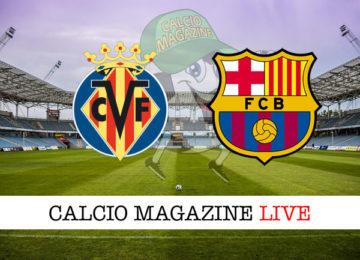 Villarreal Barcellona cronaca diretta live risultato in tempo reale