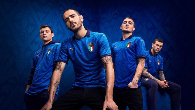 Rinascimento Italia: presentata la nuova maglia della Nazionale