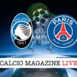Atalanta PSG cronaca diretta live risultato in tempo reale
