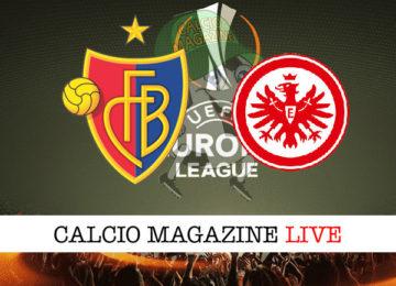 Basilea Eintracht Francoforte cronaca diretta live risultato in tempo reale