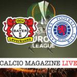 Bayer Leverkusen Rangers cronaca diretta live risultato in tempo reale