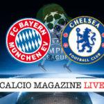 Bayern Monaco Chelsea cronaca diretta live risultato in tempo reale