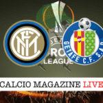 Inter Getafe cronaca diretta live risultato in tempo reale