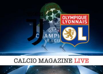 Juventus Lione cronaca diretta live risultato in tempo reale