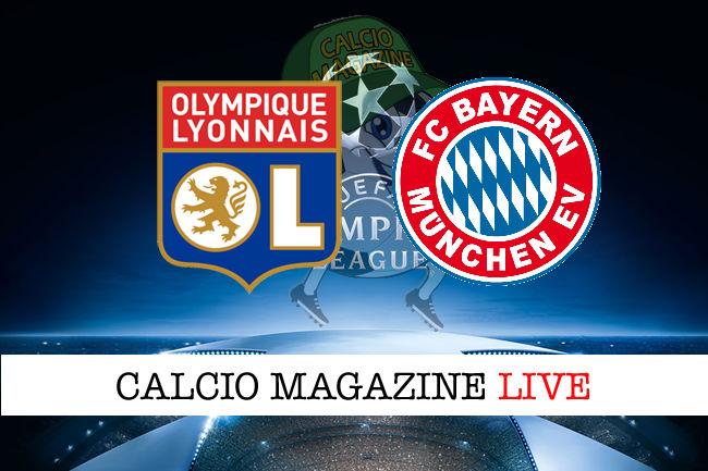Lione Bayern Monaco cronaca diretta live risultato in tempo reale