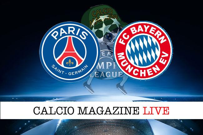 PSG Bayern Monaco cronaca diretta live risultato in tempo reale