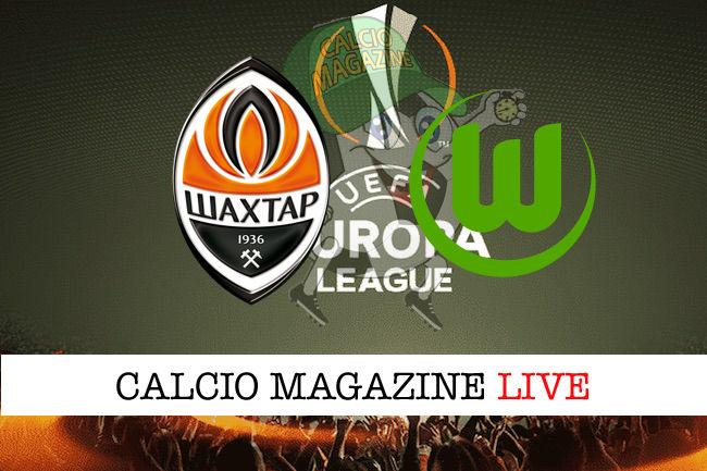 Shakhtar Donetsk Wolfsburg cronaca diretta live risultato in tempo reale