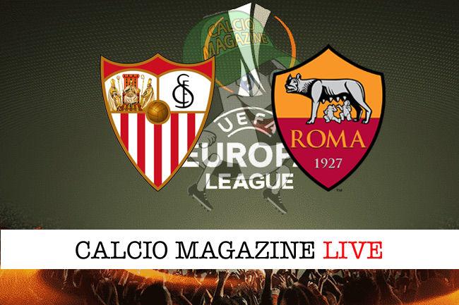 Siviglia Roma cronaca diretta live risultato in tempo reale