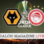 Wolves Olympiakos cronaca diretta live risultato in tempo reale