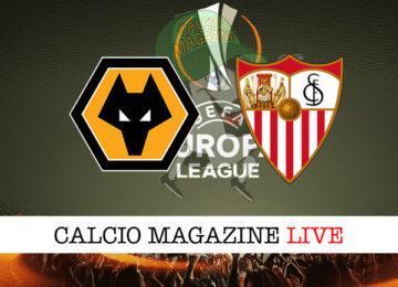 Wolves Siviglia cronaca diretta live risultato in tempo reale